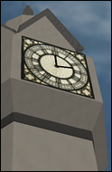SW City Clock Tower